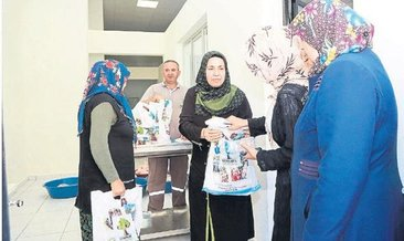 270 yetimin ailesine kurban eti dağıtıldı