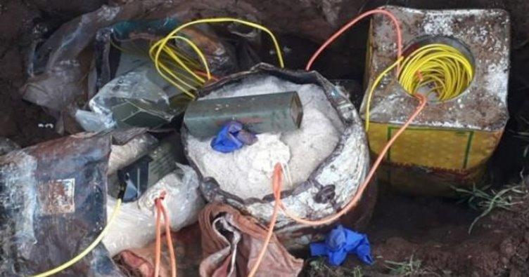 Mardin'de 25 kilogram patlayıcı ele geçirildi
