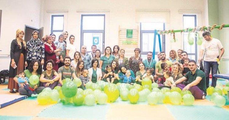 Adana'da Serebral Palsi farkındalık günü etkinliği