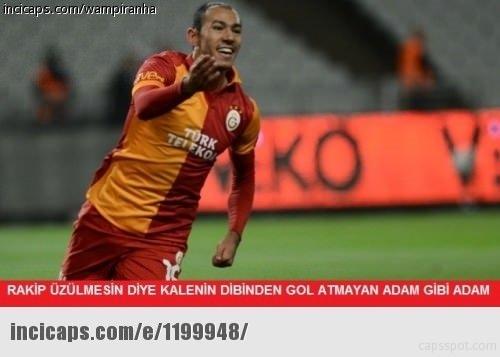 Galatasaray-Benfica maçı capsleri