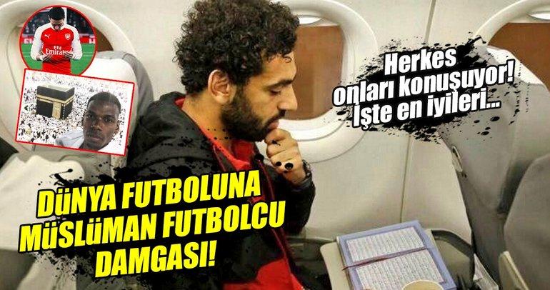 Dünya futboluna Müslüman futbolcular damga vurdu!