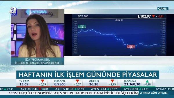 Seda Yalçınkaya Özer: Borsa İstanbul'da ana eşik 1100 seviyesi