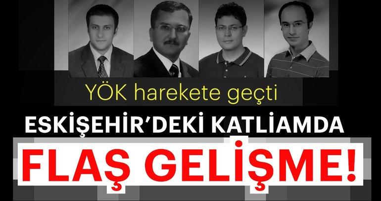 Son dakika: Eskişehir'deki silahlı saldırıya ilişkin yeni gelişme