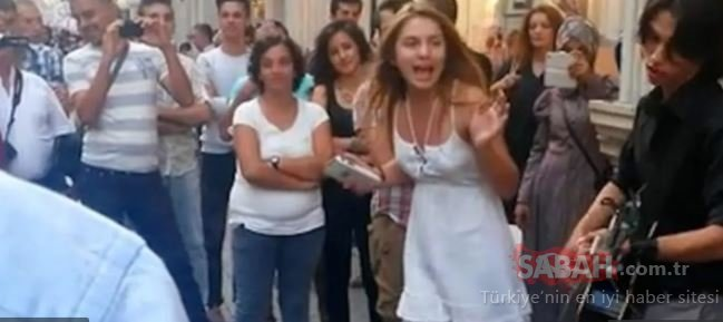Sokak şarkıcısı Aleyna Tilki! Genç popçu Aleyna Tilki'nin yıllar önce İstiklal Caddesi'nde şarkı söylediği anlar ortaya çıktı!