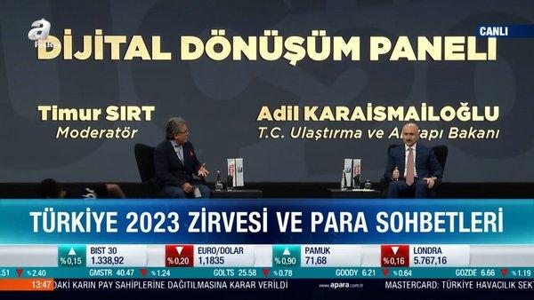 Ulaştırma ve Altyapı Bakanı Adil Karaismailoğlu'dan 3. Türkiye 2023 Zirvesi'nde açıklamalar| Video
