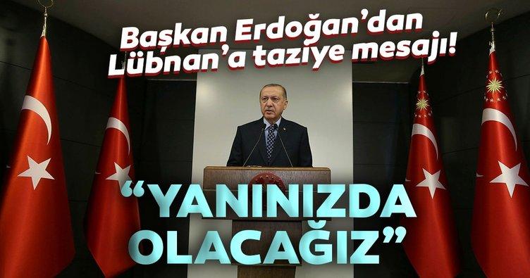 Son dakika: Türkiye'den Lübnan halkının yanındayız mesajları