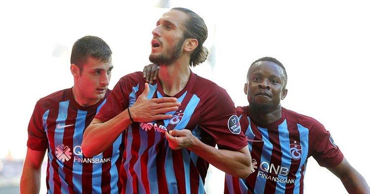 Yusuf Yazıcı atıyor, Trabzonspor kaybetmiyor