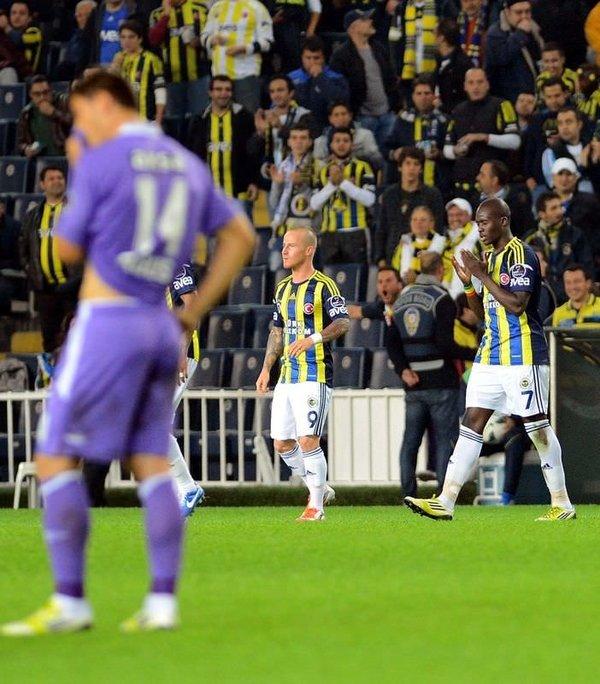 Fenerbahçe - Orduspor maçı Twitter'ı salladı