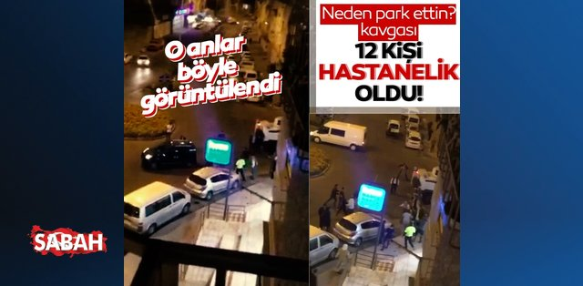 Diyarbakır'da 'neden park ettin?' kavgası! 12 kişi hastanelik oldu