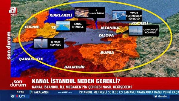 Kanal İstanbul neden gerekli? Kanal İstanbul ile boğazların güvenliği nasıl sağlanacak? | Video