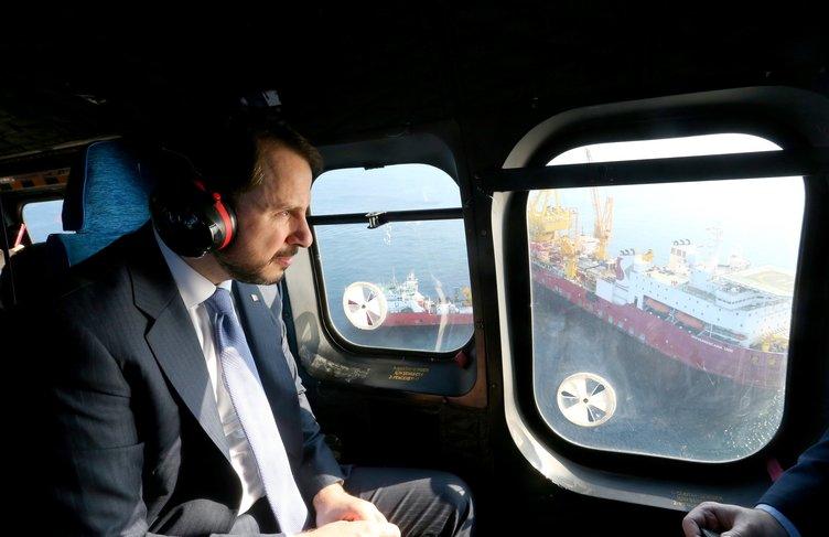 Bakan Albayrak Çanakkale'de TANAP projesini inceledi