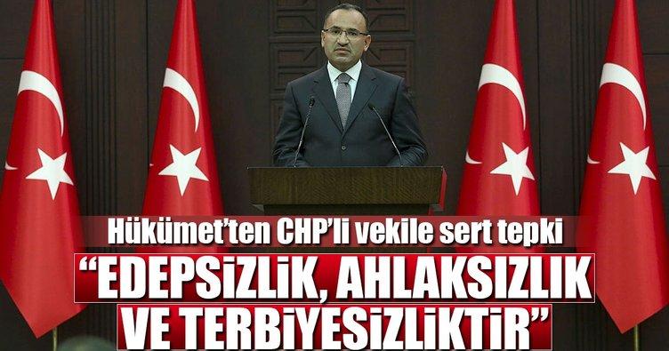 Hükümet Sözcüsü Bakan Bozdağ'dan kritik açıklamalar