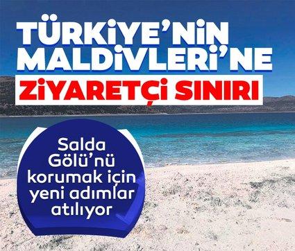 Türkiye'nin Maldivleri'ne ziyaretçi sınırı