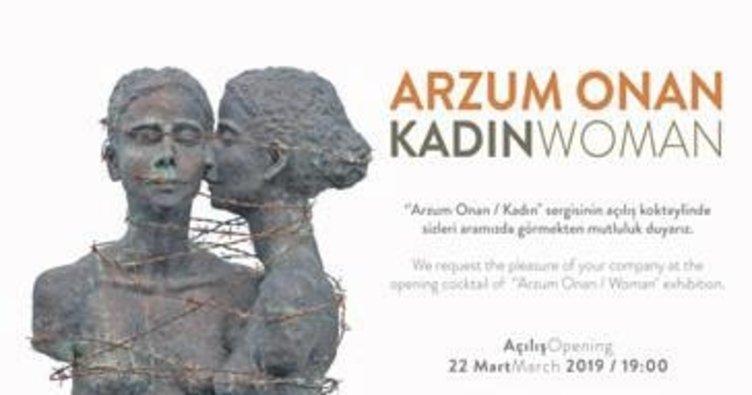 Arzum Onan'ın 'Kadın' sergisi CerModern'de