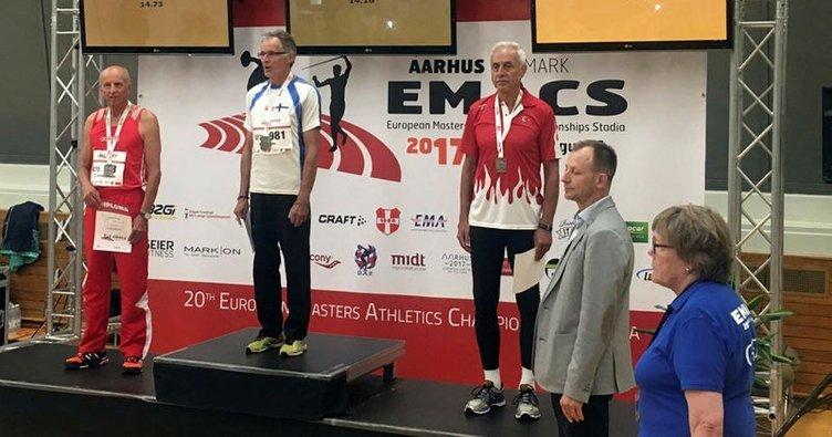 Murat Kaçar, Avrupa üçüncüsü oldu!