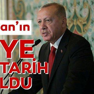 Başkan Erdoğan o tarihte ABD'ye gidecek