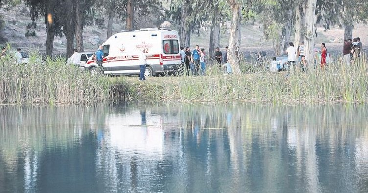 Tarsus'ta bir genç Berdan Barajı'nda boğuldu