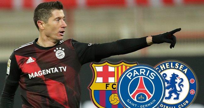 Chelsea transferde büyük oynuyor! Barcelona ve PSG ile birlikte Robert Lewandowski yarışı…