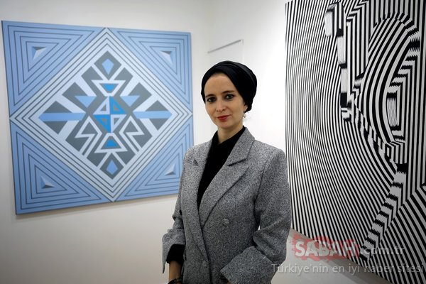 Ressam Çimen'den New York'ta Anadolu'dan kilim motifleri sergisi