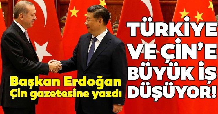 Başkan Erdoğan: Çin'e ticaret çağrısı