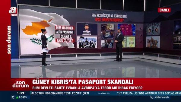 Güney Kıbrıs'ta pasaport skandalı! Rum devleti sahte evrakla Avrupa'ya terör mü ihraç ediyor? | Video