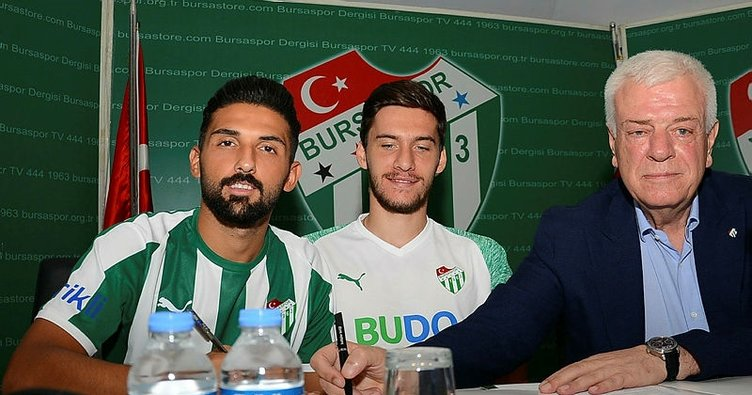 Bursaspor'da Umut Meraş sevinci