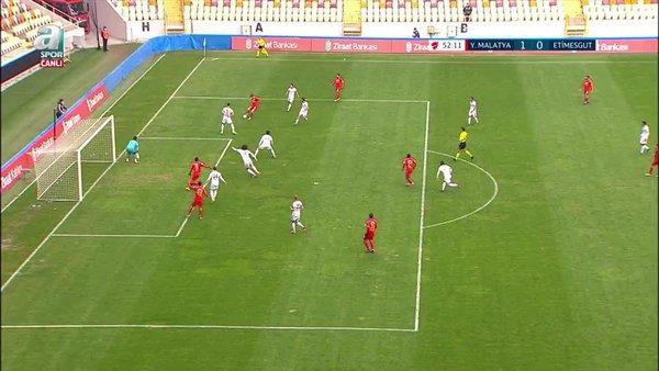 GOL | Yeni Malatyaspor 1-0 Etimesgut Belediyespor