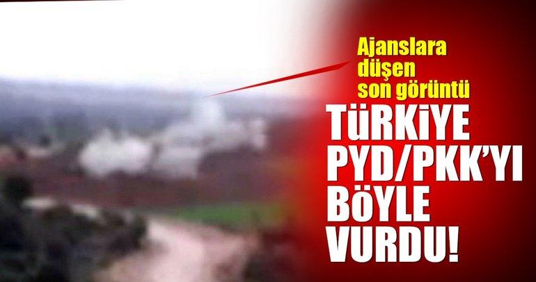 Son Dakika Haberi: Türkiye PYD/PKK'yı böyle vurdu