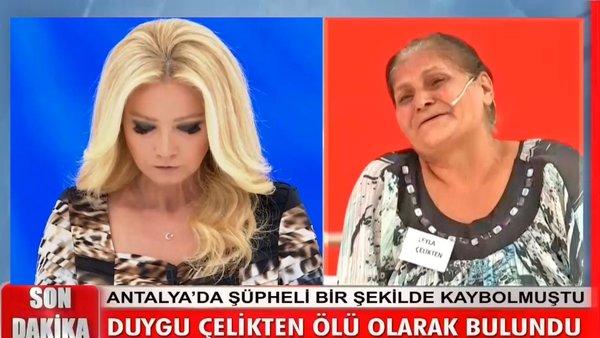 Son dakika haberi: Müge Anlı'da canlı yayında gelen acı cinayet haberi gözyaşlarına boğdu! Cesedinin bulunduğu yer... | Video
