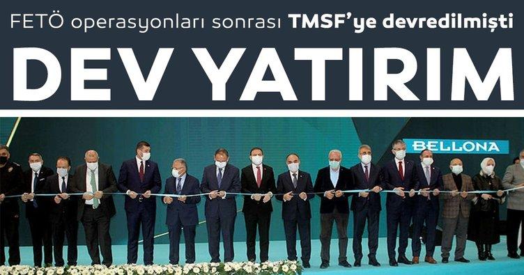 TMSF'den sıfırdan dev yatırım