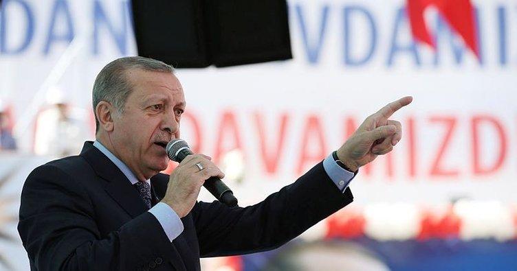 Erdoğan'dan Almanya'ya: Sen kimsin, haddini bil!