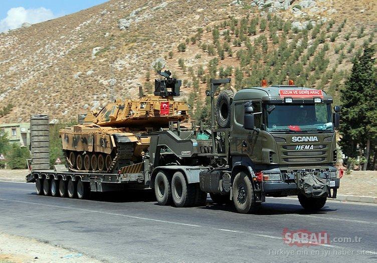 Suriye'ye askeri sevkiyat devam ediyor