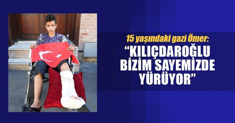 'Kılıçdaroğlu bizim sayemizde yürüyor'
