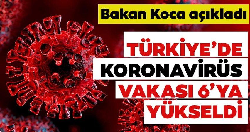 SON DAKİKA: Sağlık Bakanı Fahrettin Koca'dan corona virüsü açıklaması! 1 Vatandaşımızda daha Corona virüs tespit edildi