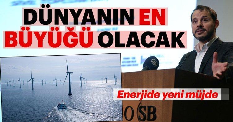 Albayrak açıkladı Türkiyenin ilk deniz üstü rüzgar santrali 26