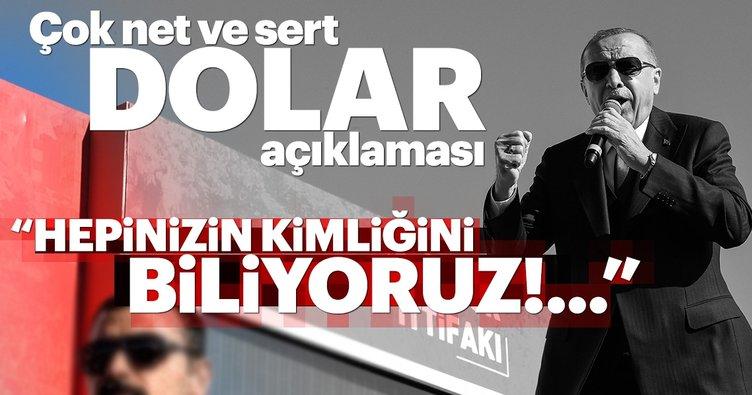 Başkan Erdoğan'dan Dolar spekülasyonuna dair sert açıklama: Bedel ödeyecekler
