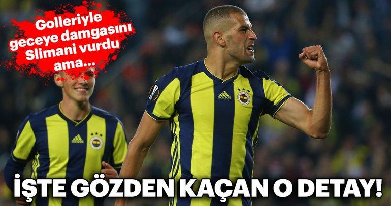 Fenerbahçe - Spartak Trnava maçından kareler