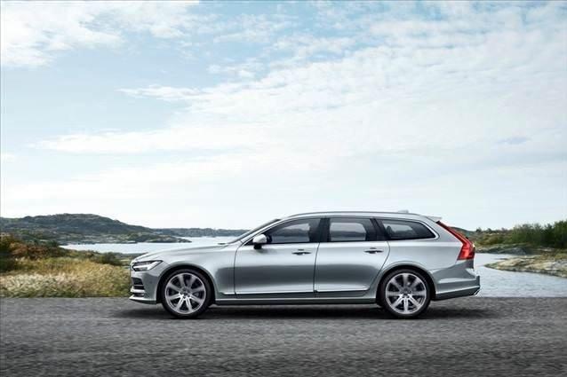 Volvo V90 Cenevre'de sahneye çıkacak