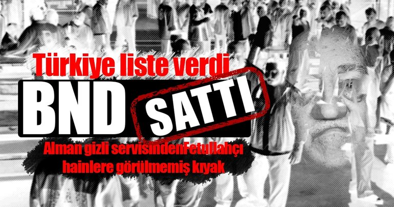 Almanya FETÖ'cüleri vermek yerine 'Türkiye peşinizde' diye uyardı
