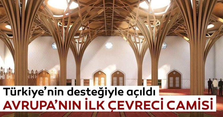 Avrupa'nın ilk çevreci camisi