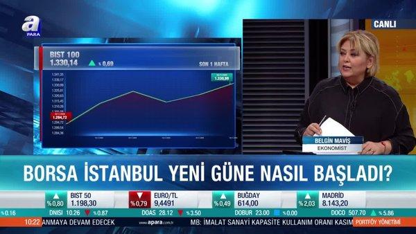 Ekonomist Belgin Maviş: Borsa İstanbul'da 1250 seviyesi çok önemli destek haline geldi