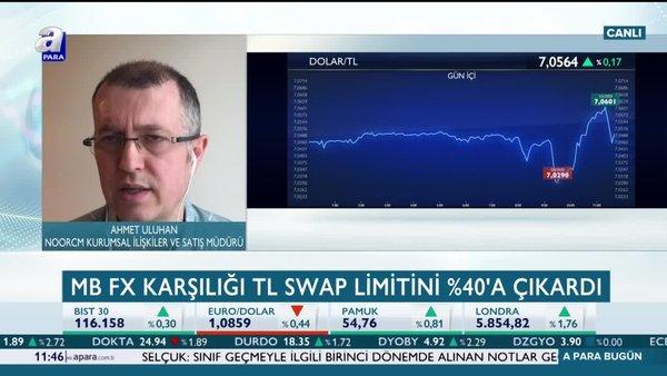 """""""MB FX swap limitini yükselterek piyasalara güven verdi"""
