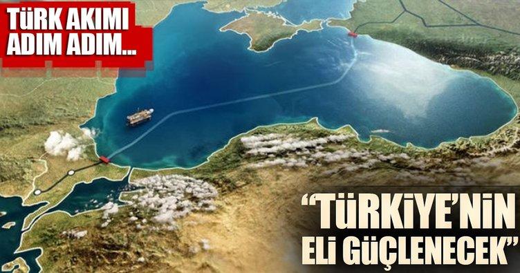 'Türk Akımı, Avrupa karşısında Türkiye'nin elini güçlendirir'