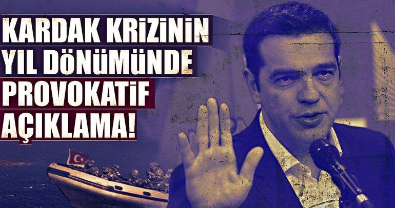 Kardak krizinin yıl dönümünde Türkiye karşıtı açıklamalar yaptı!