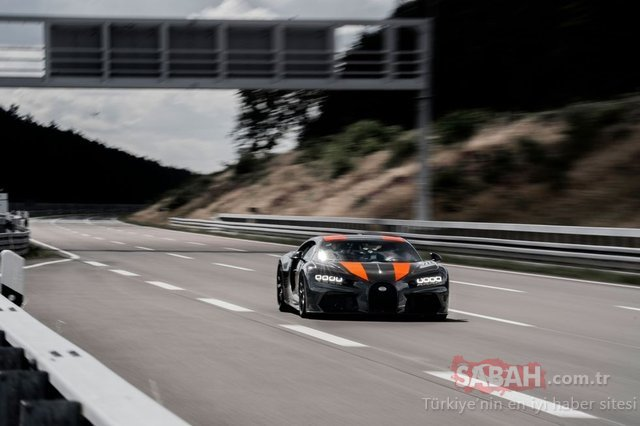 Dünyanın en hızlı arabası Bugatti Chiron oldu! Chiron rekor kırdı