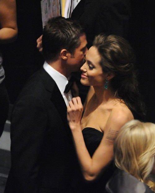Angelina Jolie - Brad Pitt