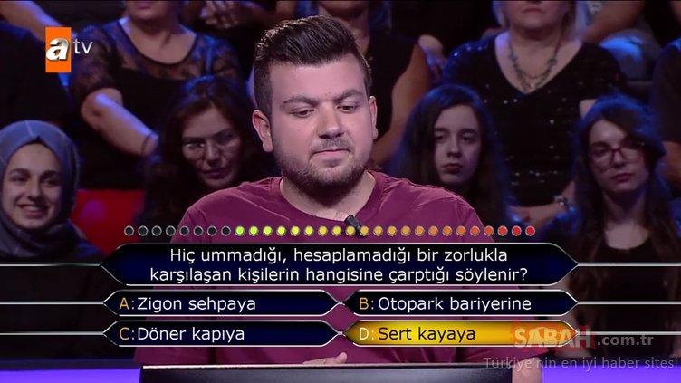 Kim Milyoner Olmak İster? 771. Bölüm tüm soru ve cevapları