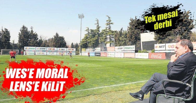 Sneijder'e moral Lens'e kilit