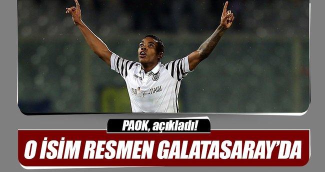 PAOK resmen açıkladı: Garry Rodrigues'in Galatasaray'a transferi tamamlandı