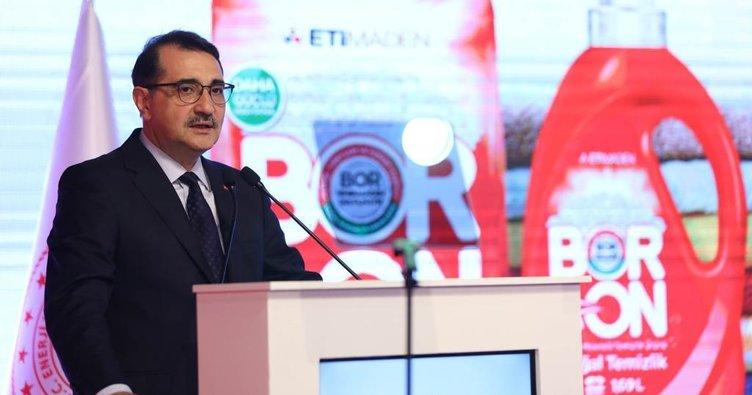 Enerji ve Tabii Kaynaklar Bakanı Fatih Dönmez'den flaş açıklama